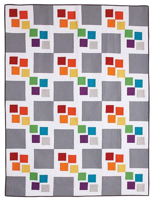 - Gray Square Scramble Quilt Kit - see https://www.shopfonsandporter.com/product/gray-square-scramble-quilt-kit/new-arrivals