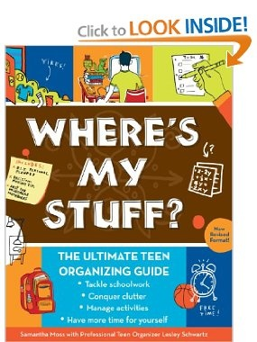 44 best organizing books i like images on pinterest organizing the ultimate teen organizing guide samantha moss lesley schwartz fandeluxe Image collections
