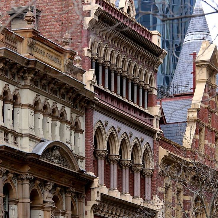 """@oh_yes_melbourne on Instagram: """"For me this is the epitome of #Melbourne, a row of fabulous buildings in Collins Street - as many…"""""""