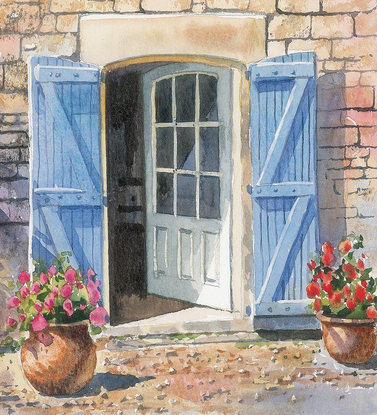 Днем рождения, художник рисует двери г.москва картинки