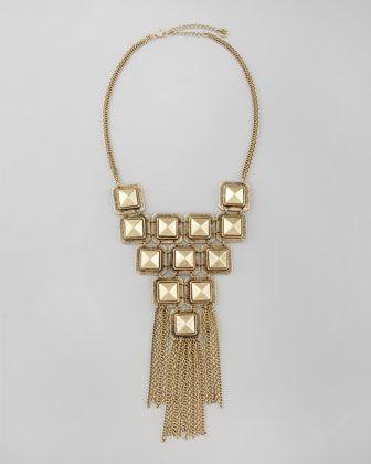 Egyptian bib necklace