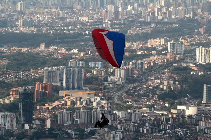 Parapente Ruitoque Floridablanca Santander Colombia