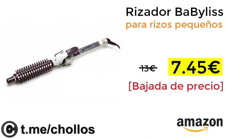 Rizador BaByliss para rizos pequeños por 745 - http://ift.tt/2xW12qq