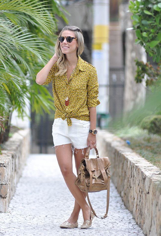 Nati Vozza do Blog de Moda Glam4You com look do dia casual perfeito para um dia corrido!