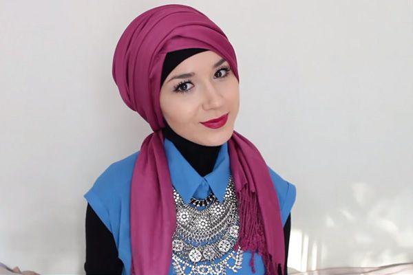 simple hijab turban
