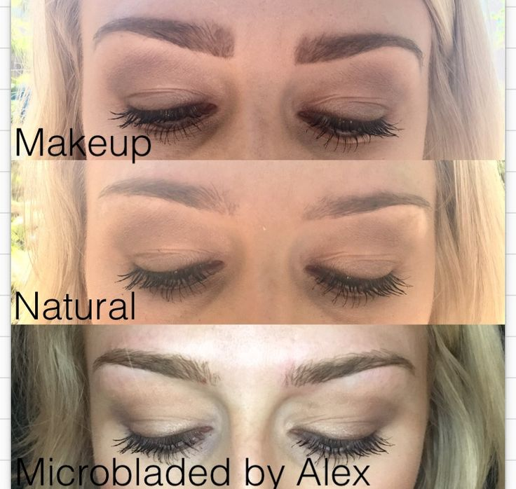 Unsymmetrical brows? No downside. Microblading may give anybody their dream eyebro…