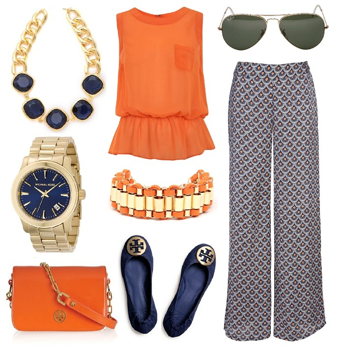 war eagle orange and blue auburn game day outfits