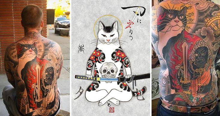 Horitomo e Monmon Cats: il tatuaggio giapponese veste d'arte i gatti