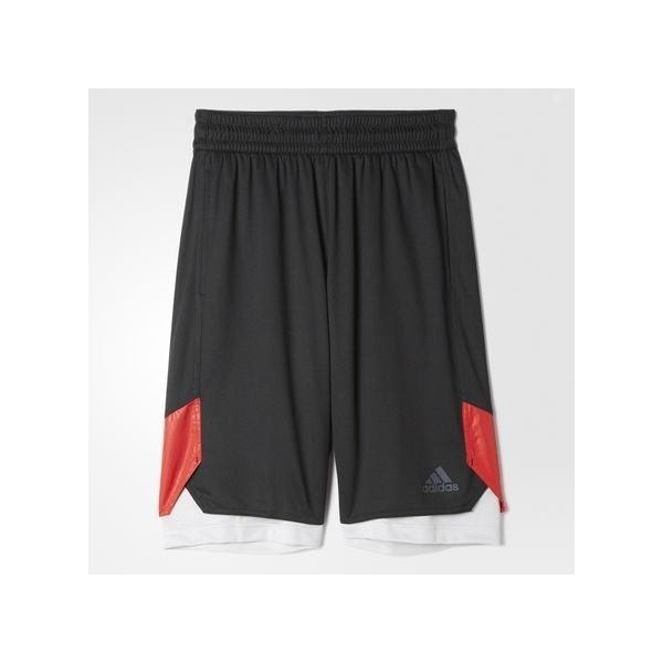 adidas Basketball League Defender Shorts (140 BRL) ❤ liked on Polyvore featuring men's fashion, men's clothing, men's activewear, men's activewear shorts, black, mens activewear shorts and mens activewear