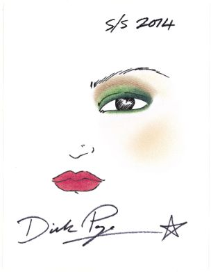 Dick Page's bold makeup vision for spring/summer