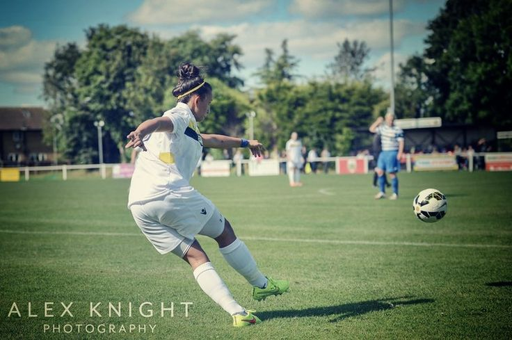 Saints Strike Late to Deny Leeds Ladies in FA Plate // Shelbey Morris by Alex Knight