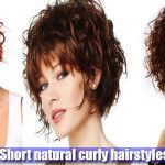 Best short natural curly hairstyles - http://www.tophairstylesforwomen.com/best-short-natural-curly-hairstyles/