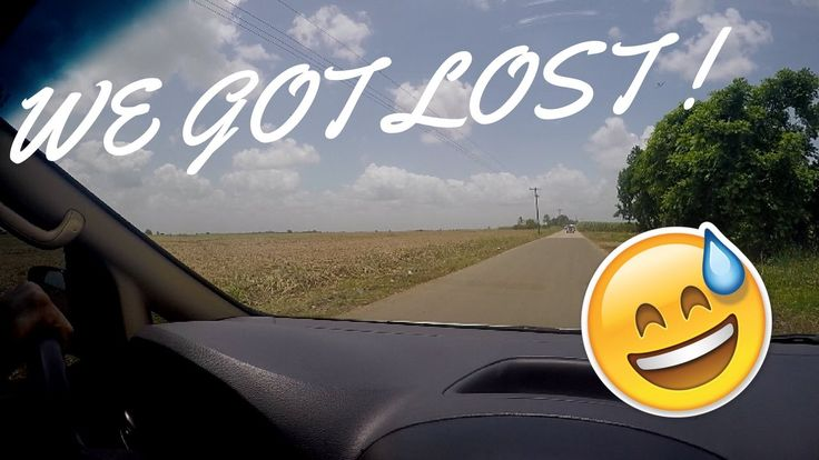WE GOT LOST IN THE CAMPO!?