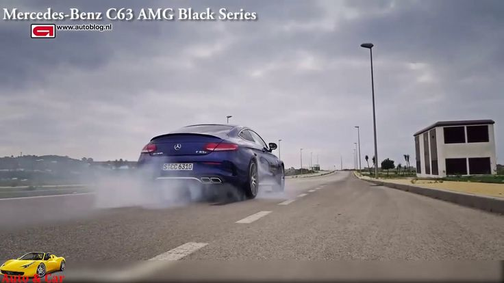 Mercedes C63 S AMG Coupe vs Mercedes C63 AMG BLACK SERIES - Acceleration...