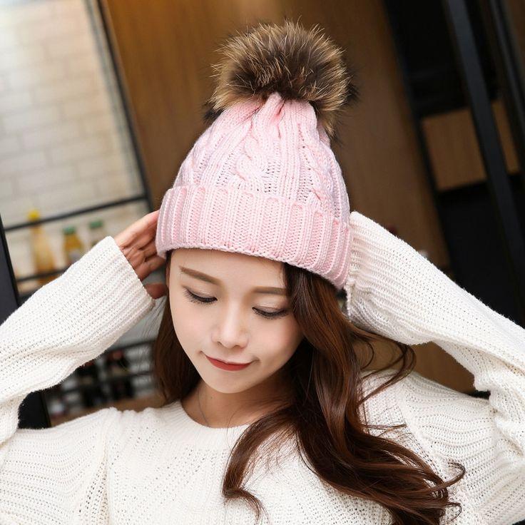 $7.59 (Buy here: https://alitems.com/g/1e8d114494ebda23ff8b16525dc3e8/?i=5&ulp=https%3A%2F%2Fwww.aliexpress.com%2Fitem%2FHot-Women-Winter-Hats-Beanies-Brand-Knitted-Cap-Crochet-Hat-Mink-Fur-Pompom-Ear-Protect-Casual%2F32786429918.html ) Hot Women Winter Hats Beanies Brand Knitted Cap Crochet Hat Mink Fur Pompom Ear Protect Casual Cap cappello uomo inverno for just $7.59