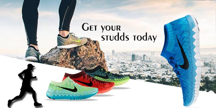 Get Your Studds Today  #MenFootwear #SportsShoes