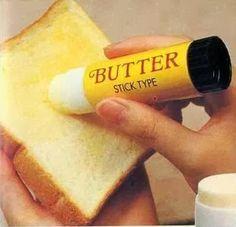 creatividad...: creatividad para untar mantequilla