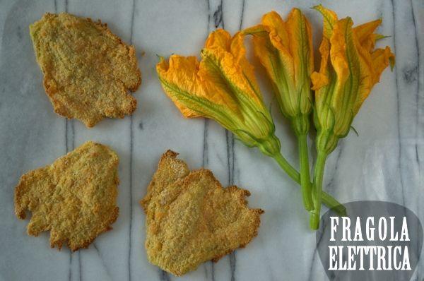 FIORI DI ZUCCA AL FORNO fragolaelettrica.com Le ricette di Ennio Zaccariello #Ricetta