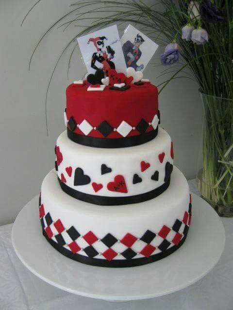 Images Of Harley Quinn Cakes
