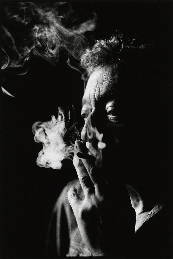 Serge Gainsbourg #Photography #People #Smoke #Cigarette #BlackAndWhite #Faces #Portrait