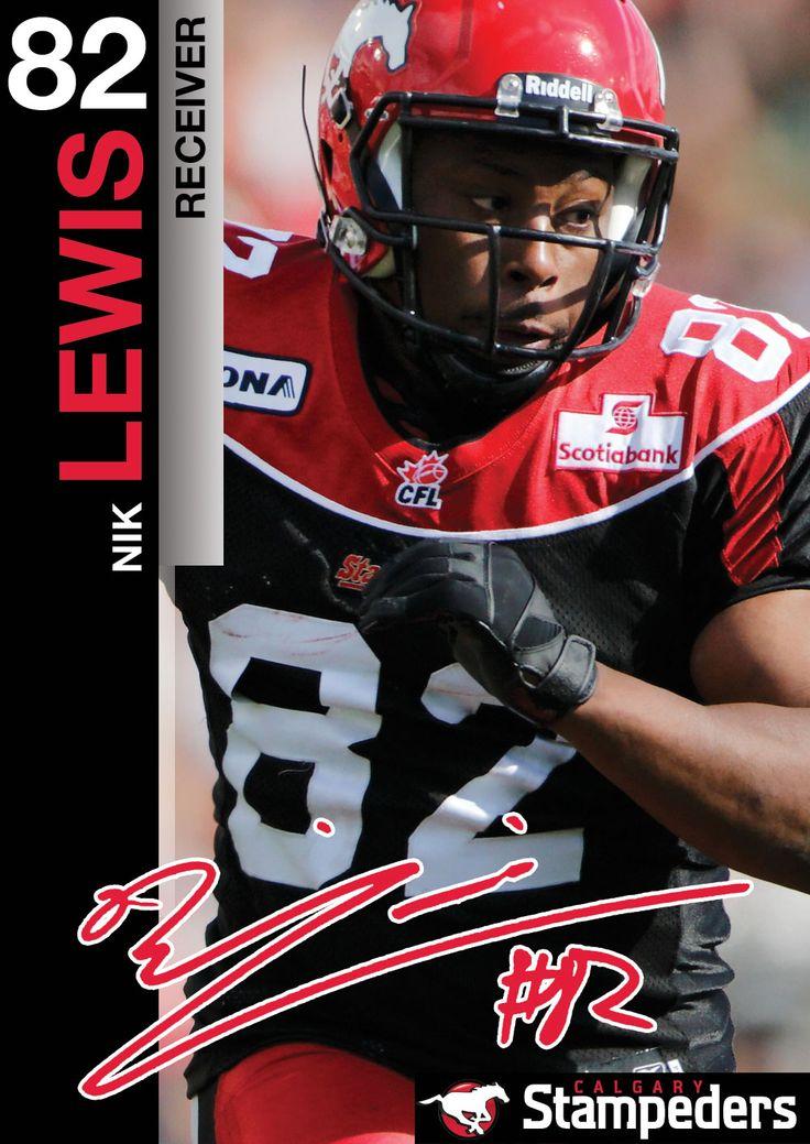 Nik Lewis | Roster | Calgary Stampeders