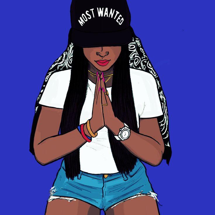 Illustration by Márcia Lima ©2015 on We Heart It
