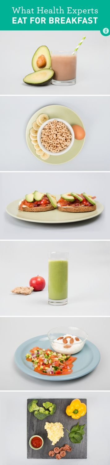 What the World's Top Health Experts Eat for Breakfast — You'd be surprised how easy and healthy these delicious breakfast are! #breakfast #healthy #easy #greatist