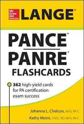 Pance Panre Flashcards: 362 High-yield Cards for Pa Certification Exam Success