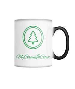 MyGreenIsGood Color Changing Coffee Mug