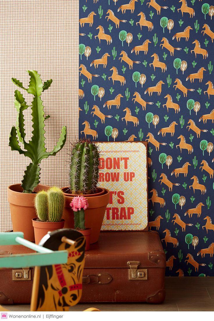 Behangcollectie Tout Petit van Eijffinger #wallpaper #behang #interieur #eijffinger #wonen #wallcoverings