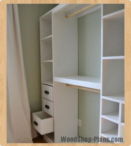 I could do this with separate bookshelves & tension rods... and keep my tv/entertainment set in the closet via this.