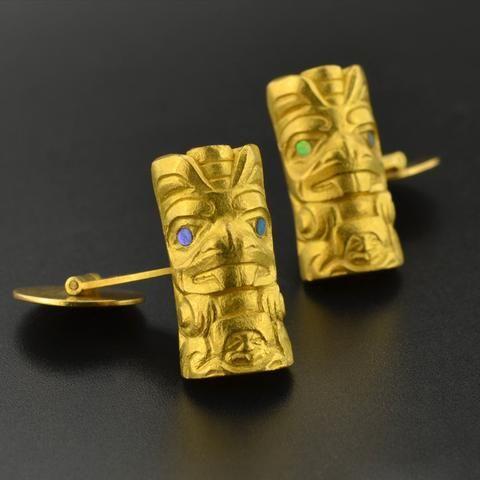 Beavers - 22k Gold Cufflinks