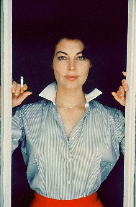 Ava Gardner by Wayne Miller, 1959. ( during the filming of On the Beach by Stanley KRAMER.)