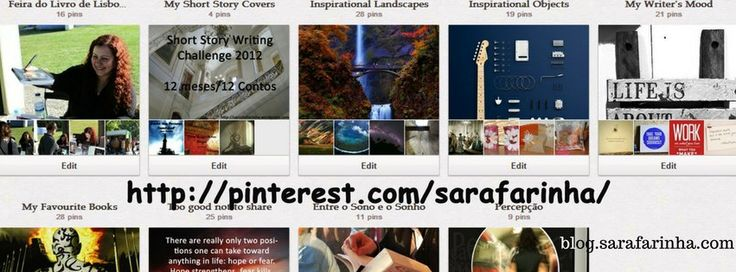 Recursos do Escritor- As vantagens do Pinterest
