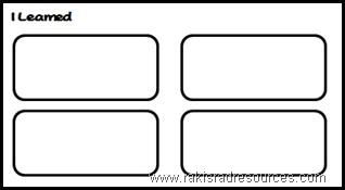 Free graphic organizer to use with a movie, unit or guest speaker - from Raki's Rad Resources