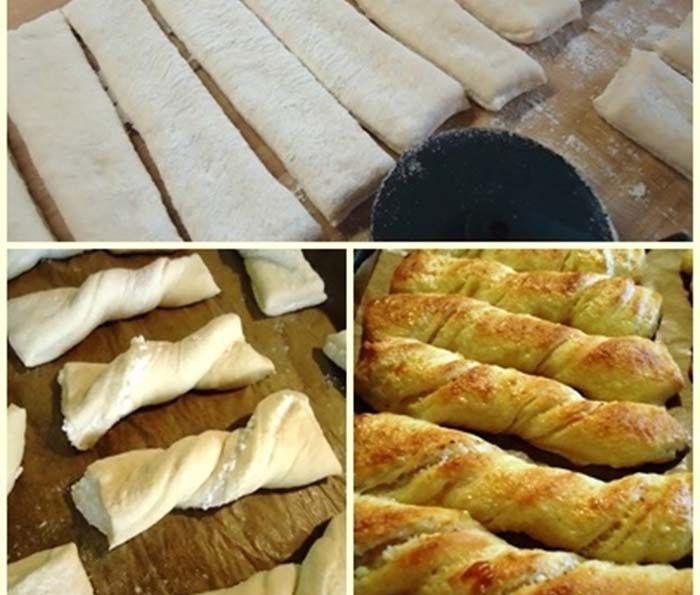Vynikající a nadýchané rohlíky, které můžete naplnit libovolnou náplní, na kterou máte právě chuť. Sýr, šunka, nutella, tvaroh, povidla nebo ořechy. Mňamka!