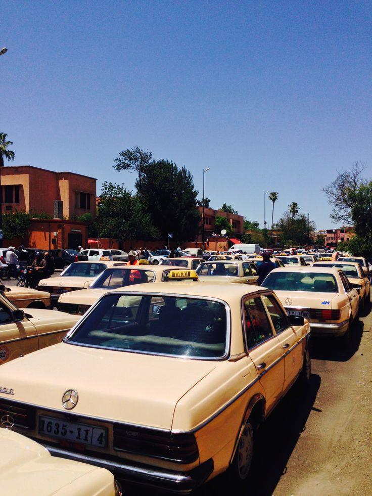 KINSA in Morocco - Taxis in Marrakech