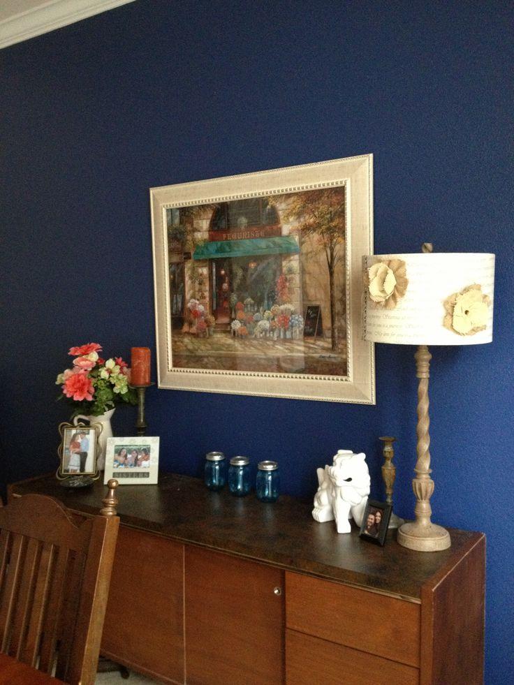Martha Stewart Blue Paint Azurite Paint Pinterest