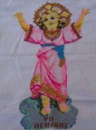Resultado de imagen para patron del divino niño en punto de cruz