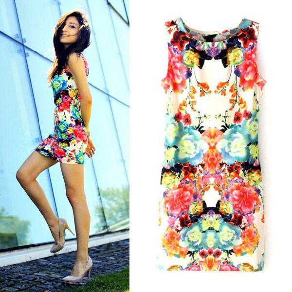 https://www.facebook.com/fashion2233  $35 - Pretty Number Floral Dress