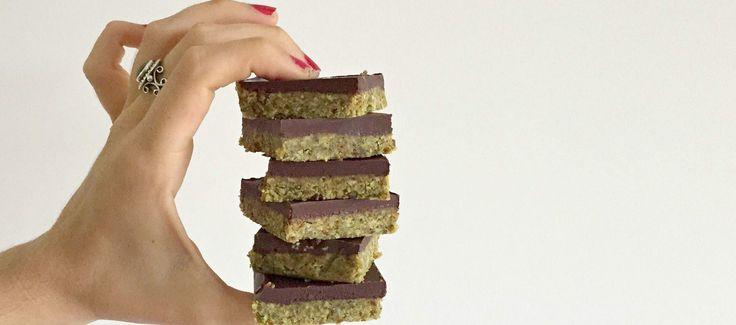 Spiced Turmeric Chocolate Slice