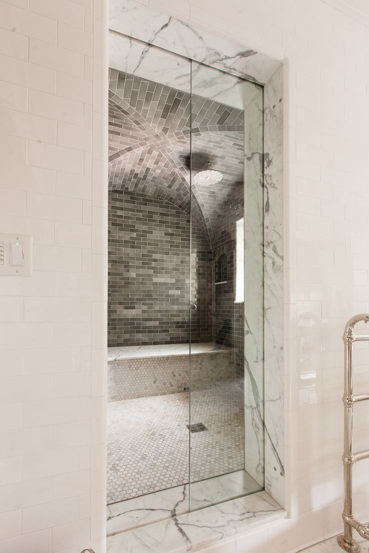 Tucker Cline Design looks sleek in any bathroom. & 18 best Steam Shower images on Pinterest | Glass shower Luxurious ...
