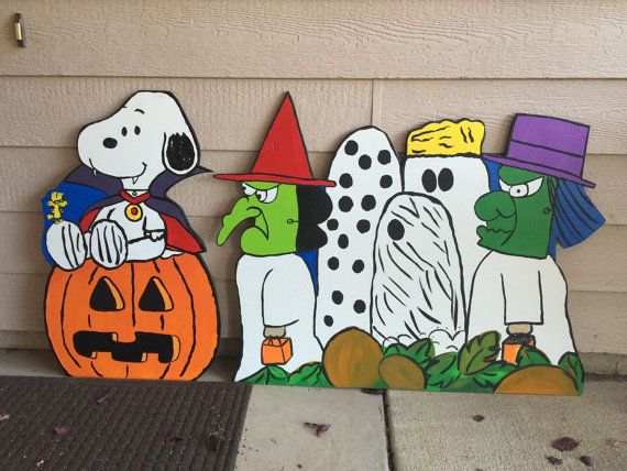 Charlie Brown Halloween Peanuts Halloween Snoopy by CreativChick