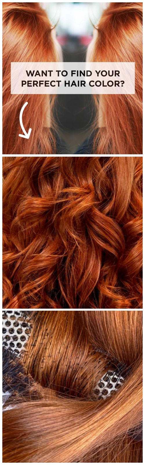 Dread the guessing game of boxed hair color? Get perfectly matching, unique-to-you color with this ultimate hair color secret�