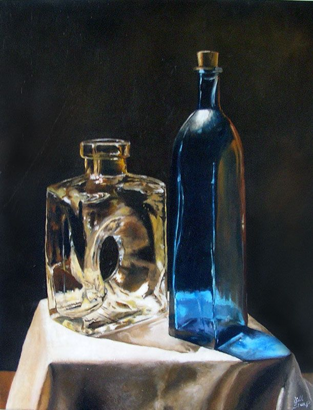 still life watercolor paintings   Still Life - Oil Painting by ~Marbletoast on deviantART