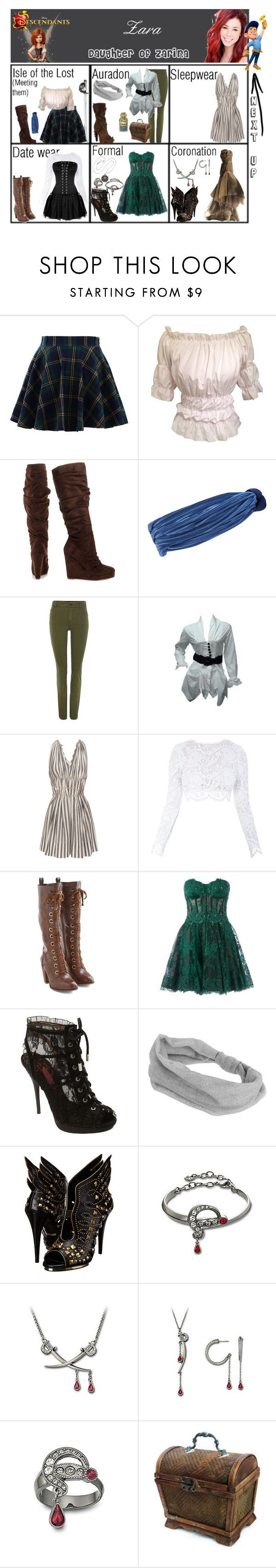 """Zara. Daughter of Zarina. Next up: Fix-It Felix Jr"" by elmoakepoke ❤ liked on Polyvore featuring Chicwish, Michael Antonio, Eugenia Kim, Oui, 3.1 Phillip Lim, Stone_Cold_Fox, Dr. Martens, Zuhair Murad, Betsey Johnson and Topshop"