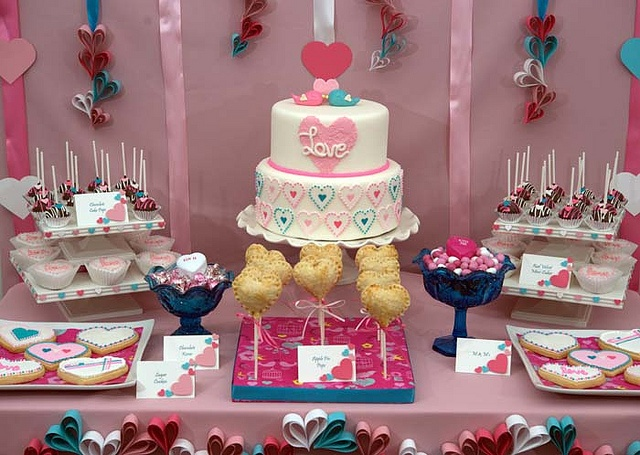 Valentine's Day Sweet table