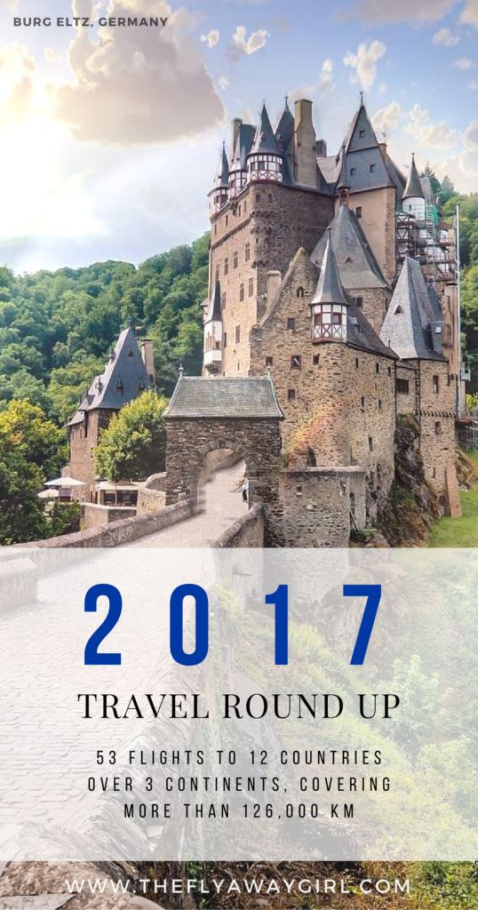 2017 was an amazing year of travel, with 53 flights totalling 191 hours in the air across 12 countries over 3 continents... read my year in review here!