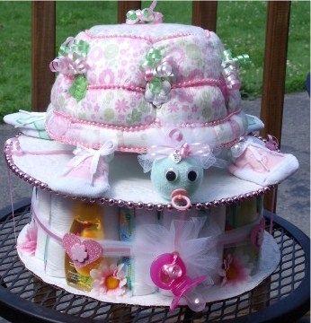 judicakes - Turtle Diaper Cake