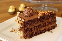 Le gâteau Ferrero Rocher   Gâteaux & Délices